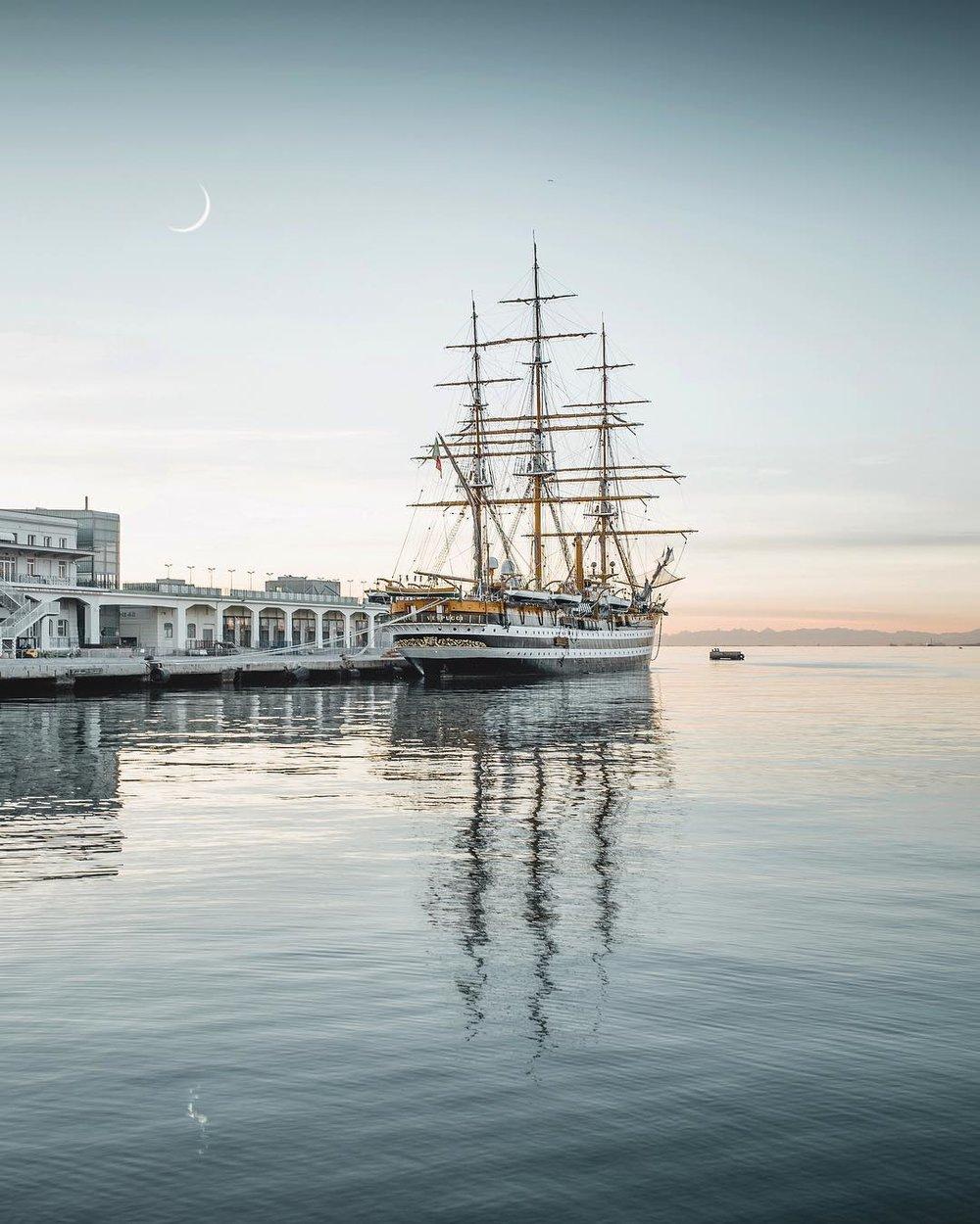 Trieste - Amerigo Vespucci
