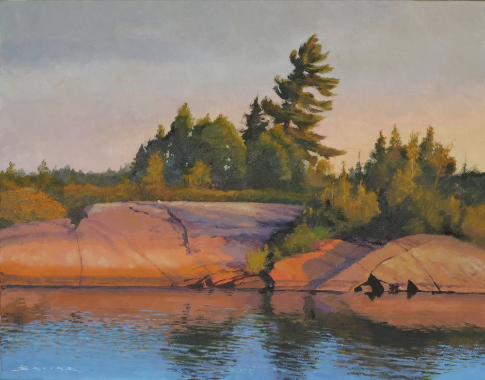 Bayfield Inlet #2, 30 x 40, oil