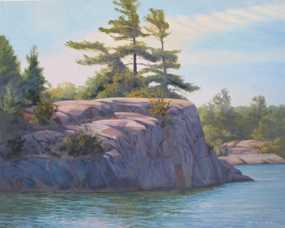 Ontario North,16 x 20, oil