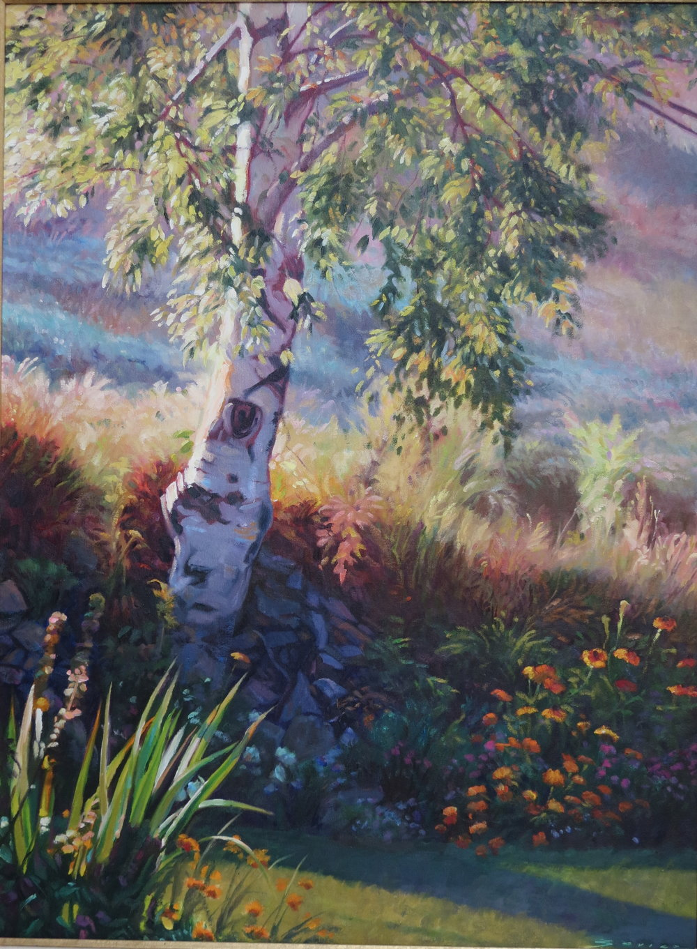 Afternoon Shadows, 24 x 32, oil