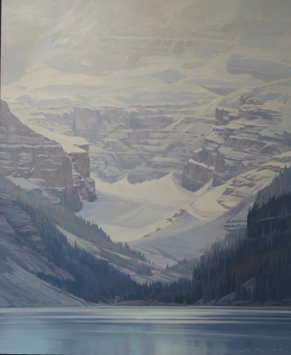 Lake Louise, 60 x 50, oil