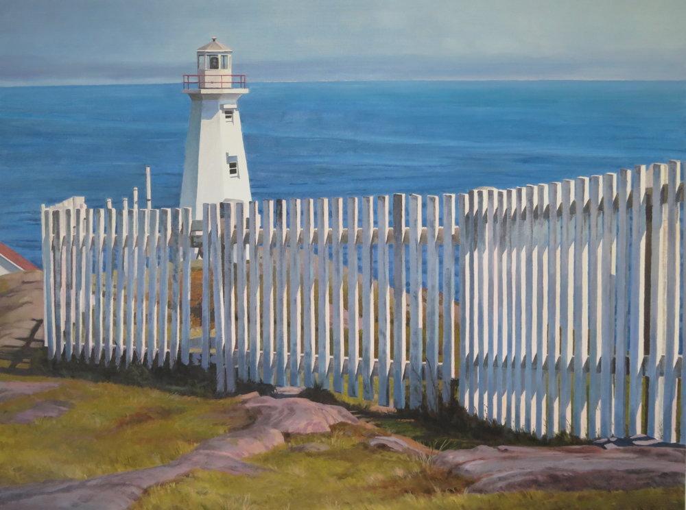 Cape Spear/New Lighthouse, NFL, 30 x 40, oil