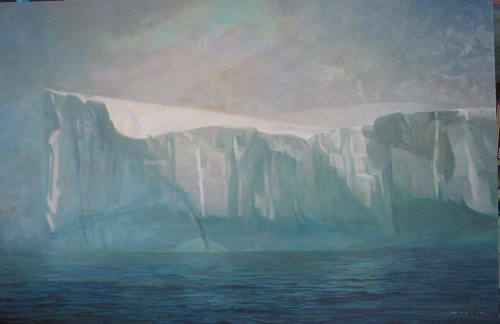 Baffin Bay, 36 x 56, oil