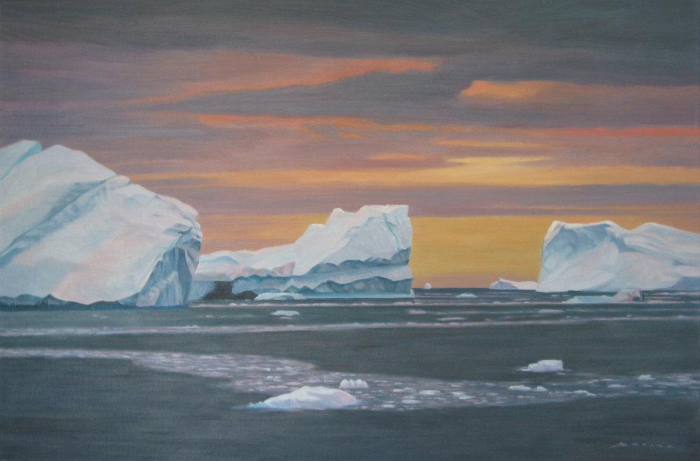 Lancaster Sound, 24 x 36, oil