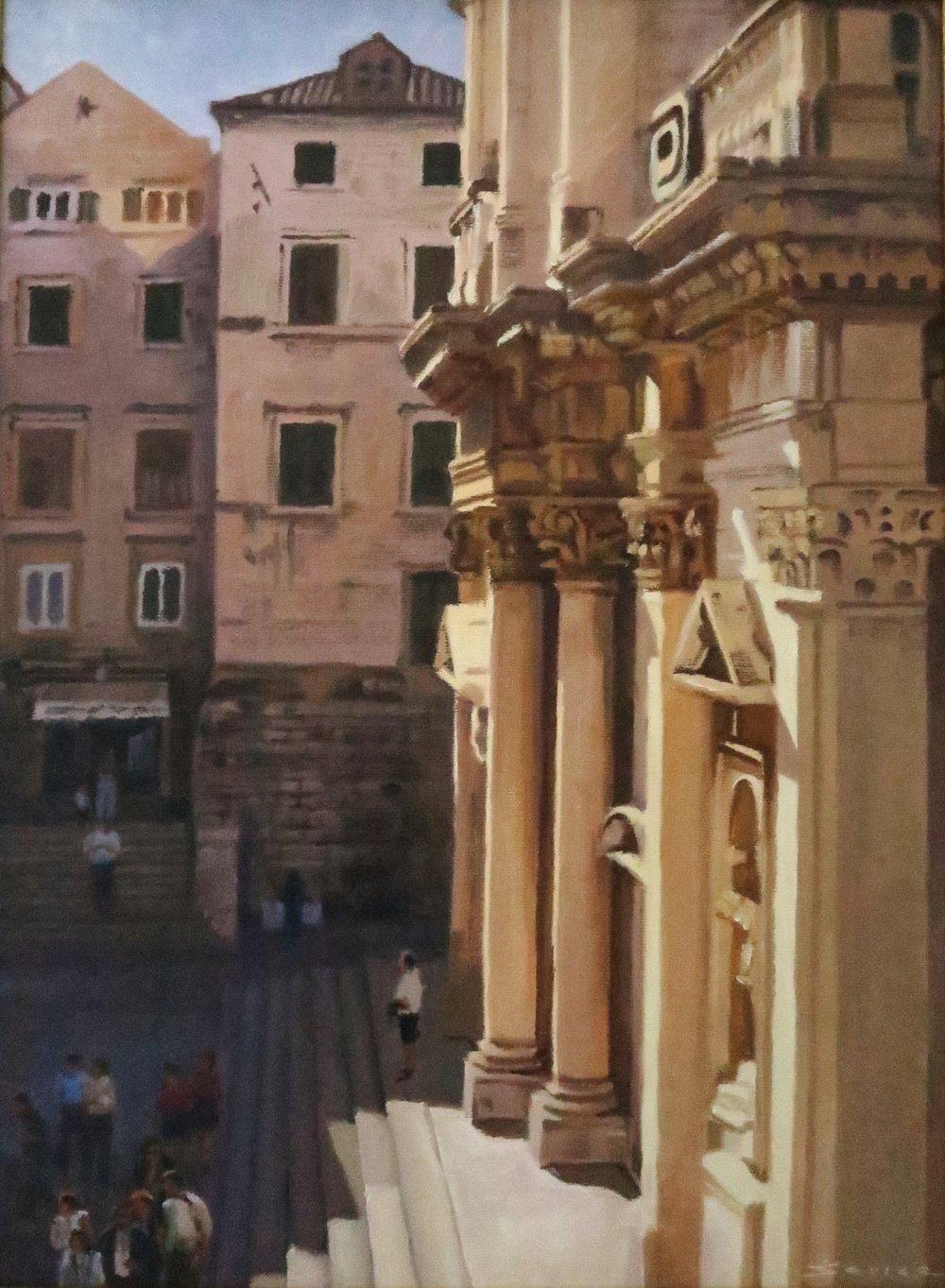 Dubrovnik, 16x 12, oil