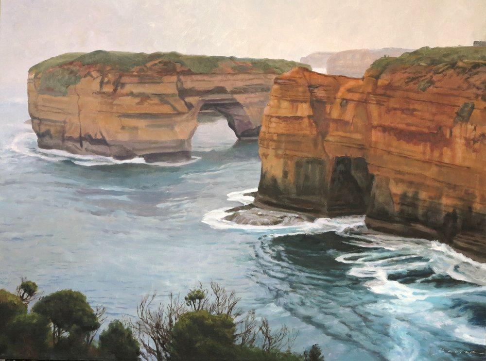 Loch Ard Groge/Australia, 24 x 32, oil