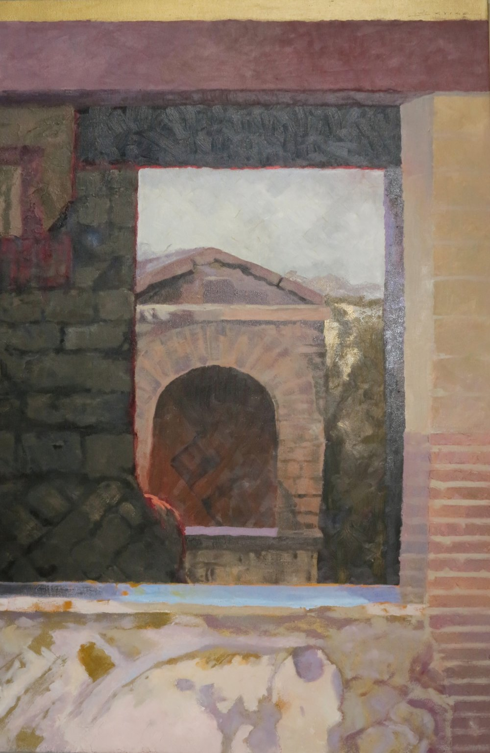 Herculaneum, 36 x 24, oil