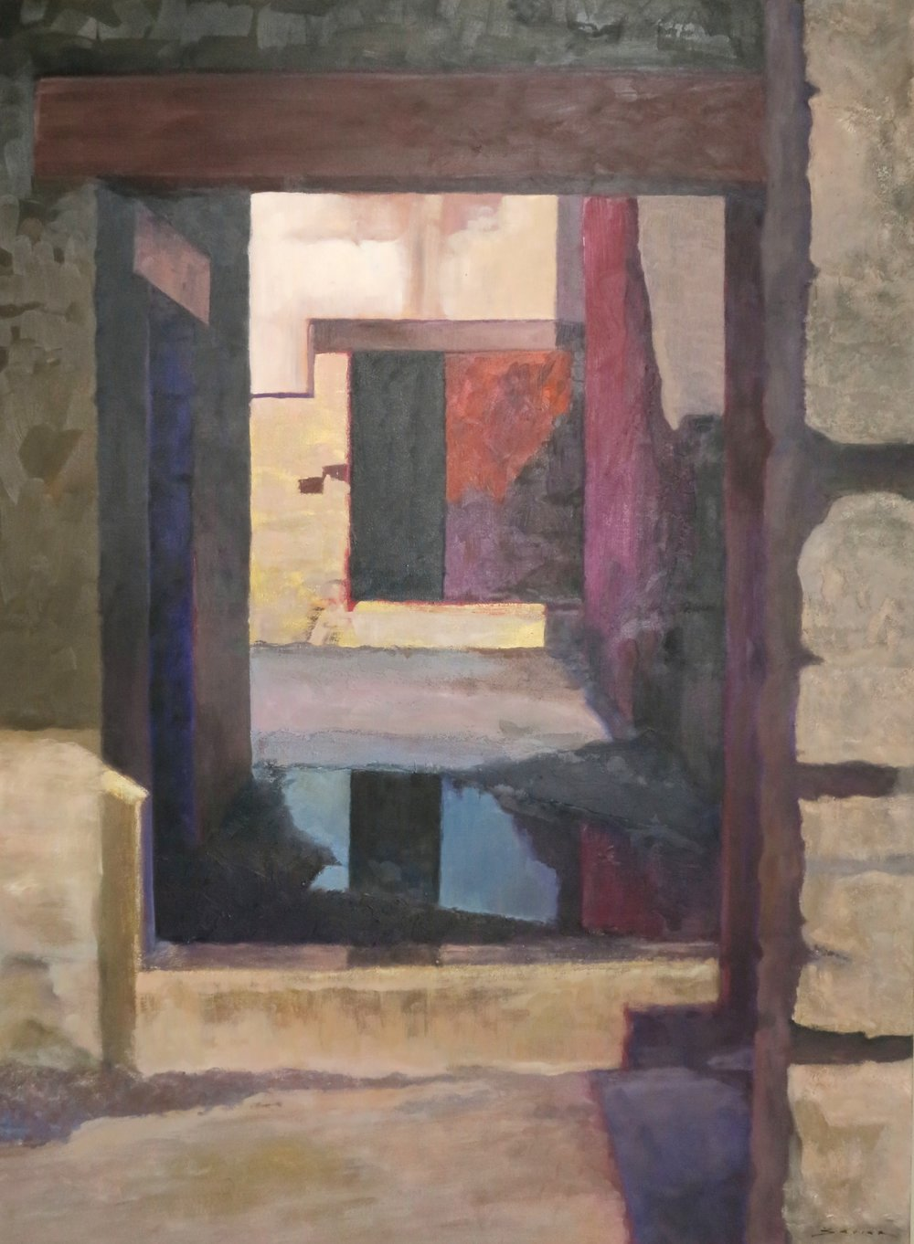Herculaneum #2, 48 x 36, oil