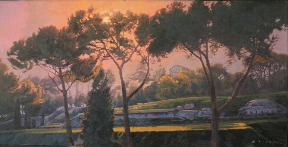Forum Rome, 20 x 40, oil