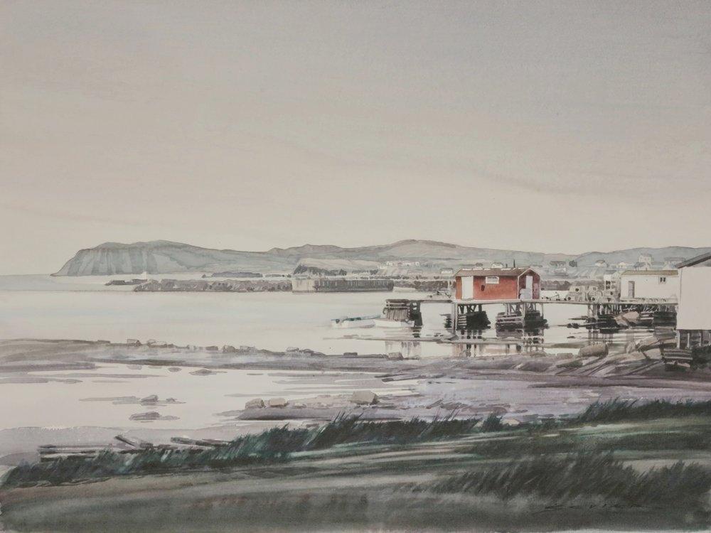 Twillingate, Nova Scotia 22 x 30 watercolour