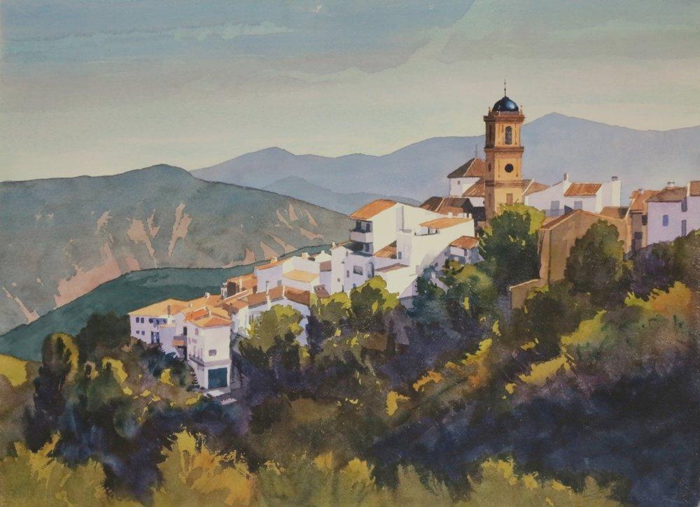 Arajate/Spain 22 x 30 watercolour