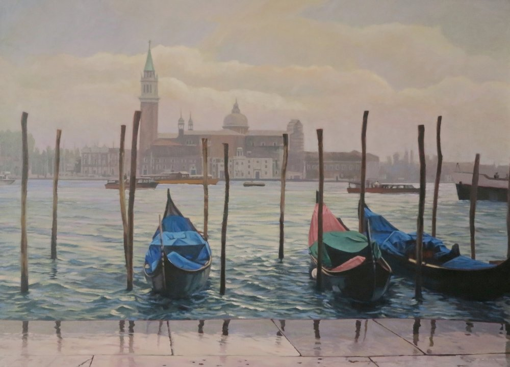 Grand Canal/Venice, 40 x 56, oil