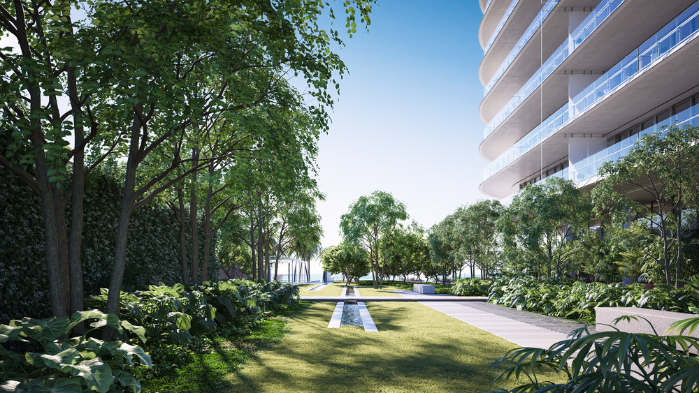 Private Garden -