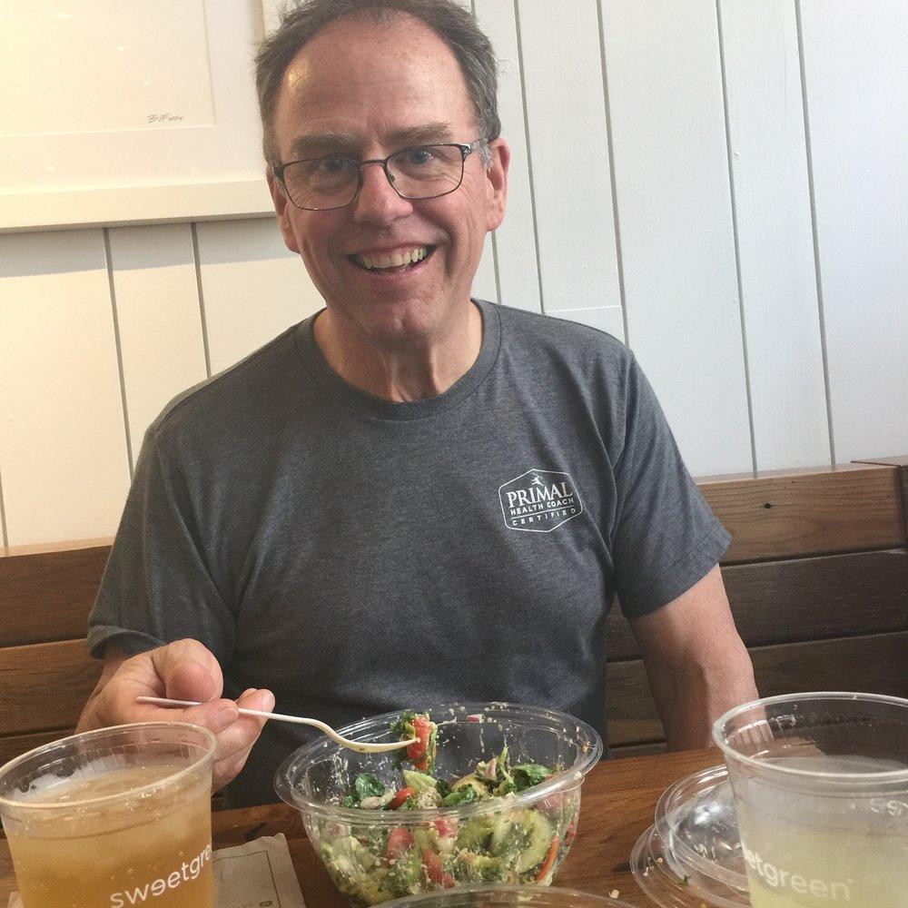 Rick Simpson Healthy eating