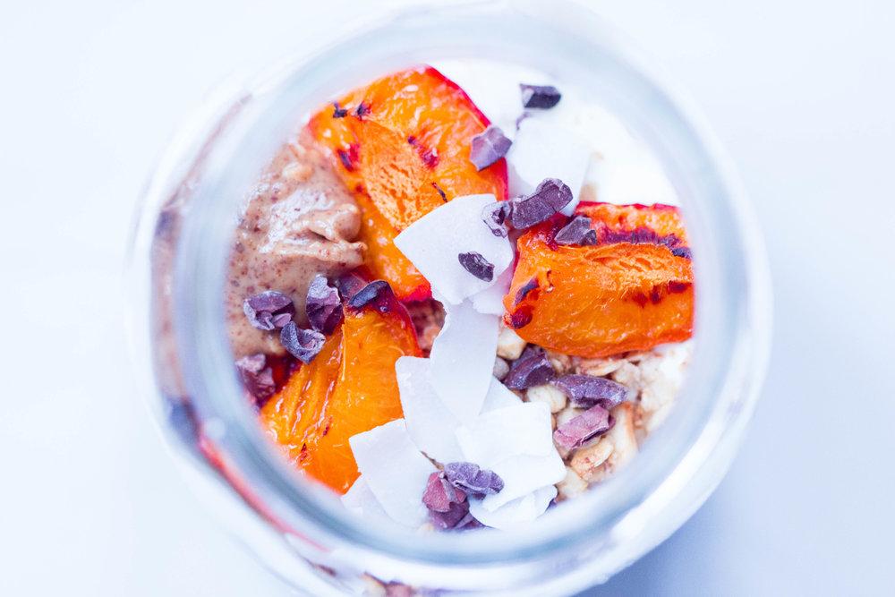 Blueberry Mousse Parfait