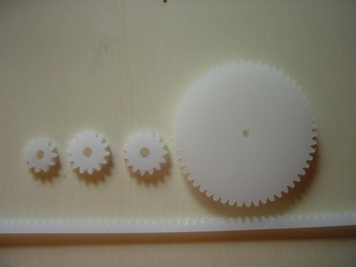 Making model gears