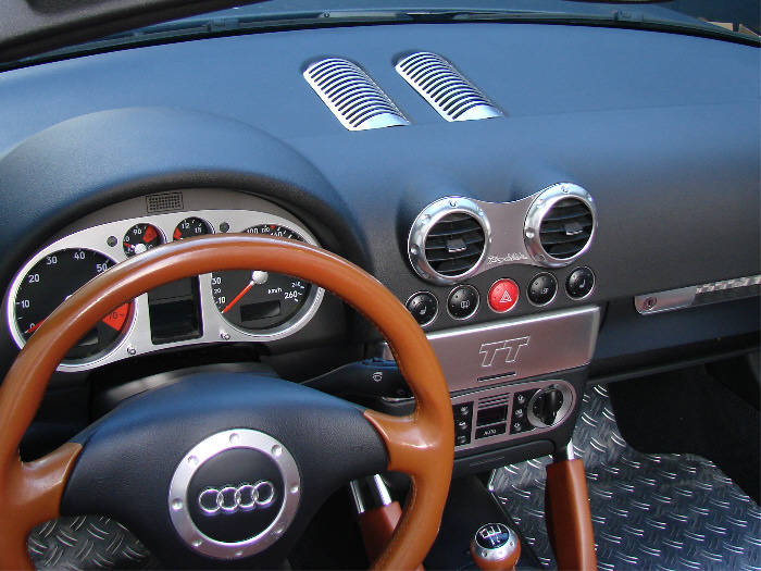 Making custom car interiors