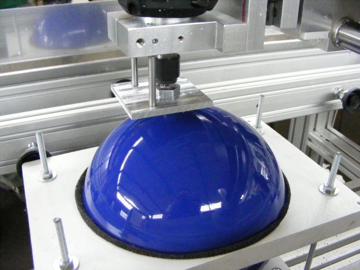Engraving bowling balls