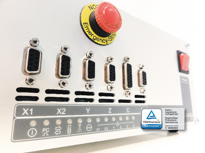 5-channel CNC controller
