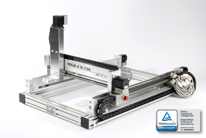 High-Z S720 - the bestselling original CNC machine from CNC-STEP