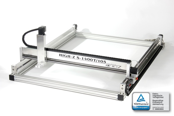 High-Z 1400T/105 powerful CNC machine with HiWin profiled guide rails