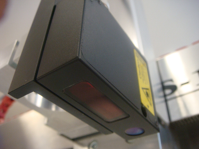 Universal laser scanner LaserProbe4500 on a High-Z CNC machine