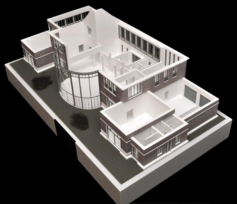 Architekturmodell Haus