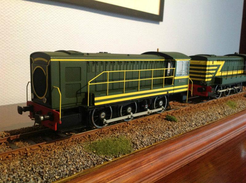 Making model trains