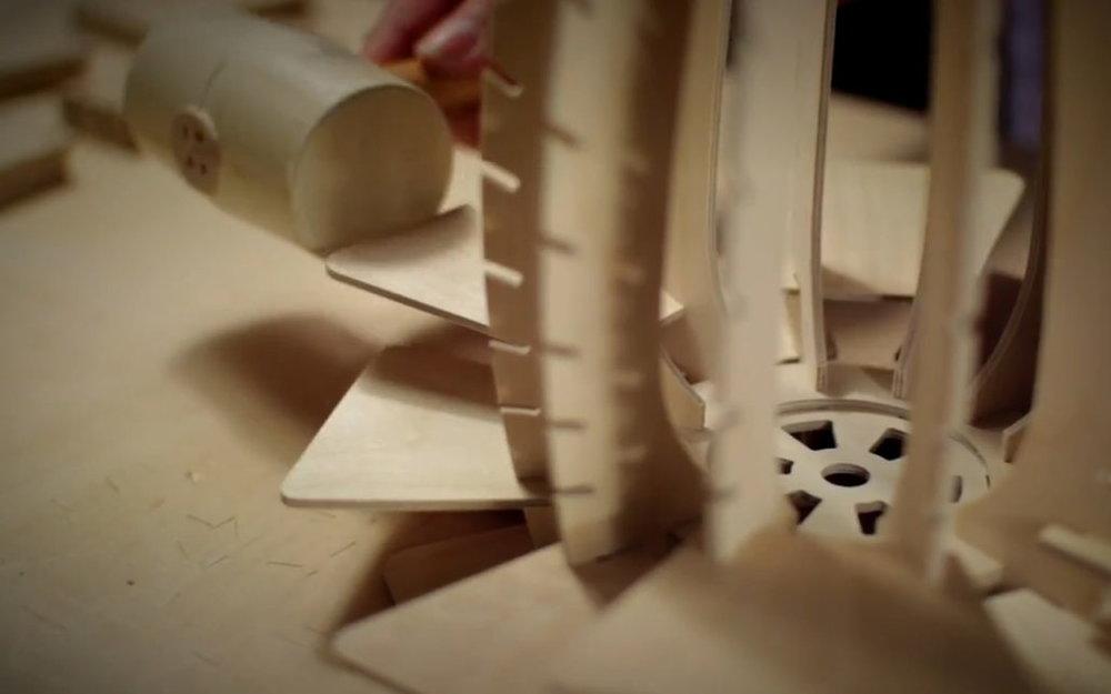Making wooden toys / models
