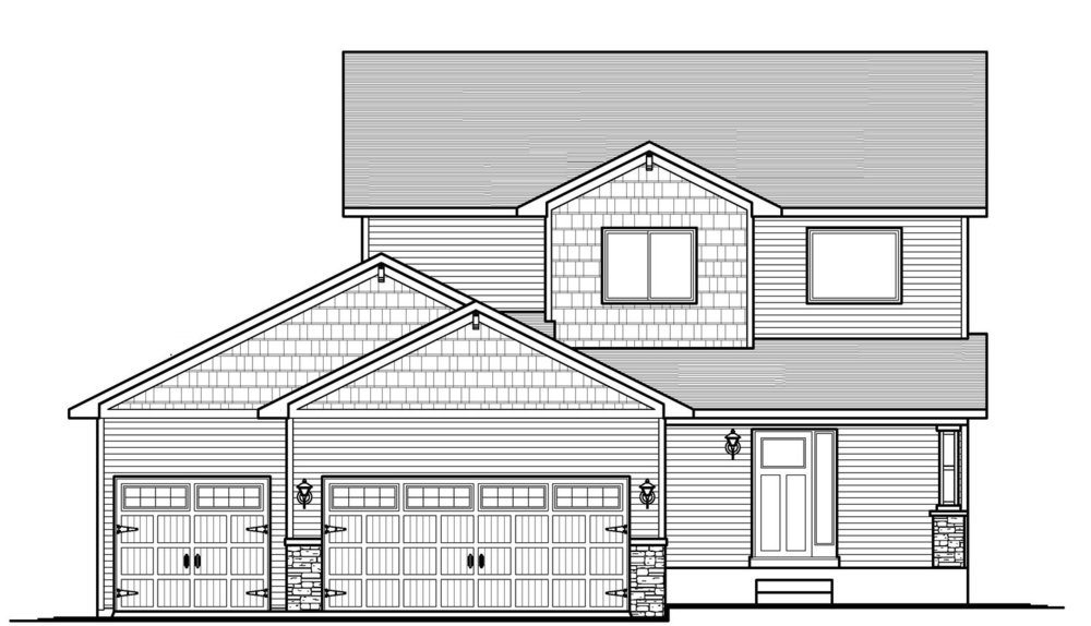 The Brianne3bd/3ba 1991sfTwo Story -