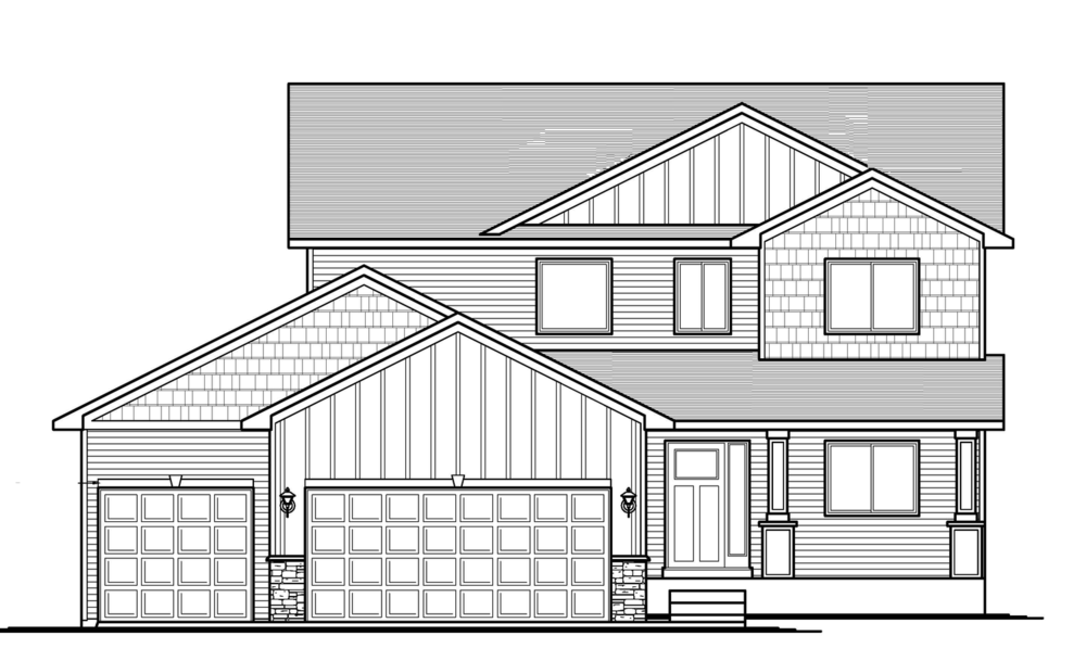 The Allison4bd/3ba 2172sfTwo Story -