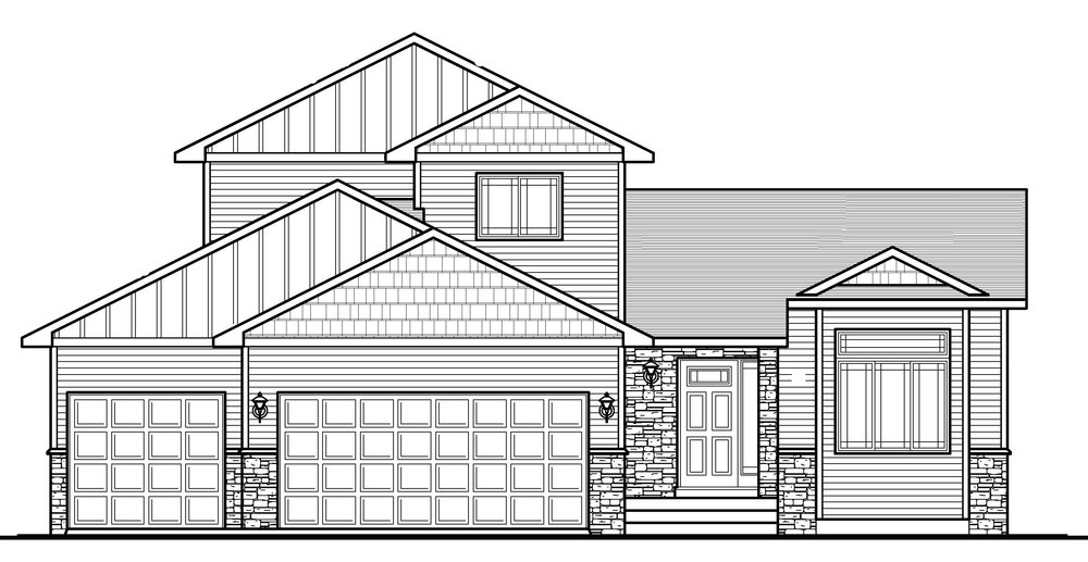 The Brittany3bd/3ba 1663sfMod Two Story$306,087 -