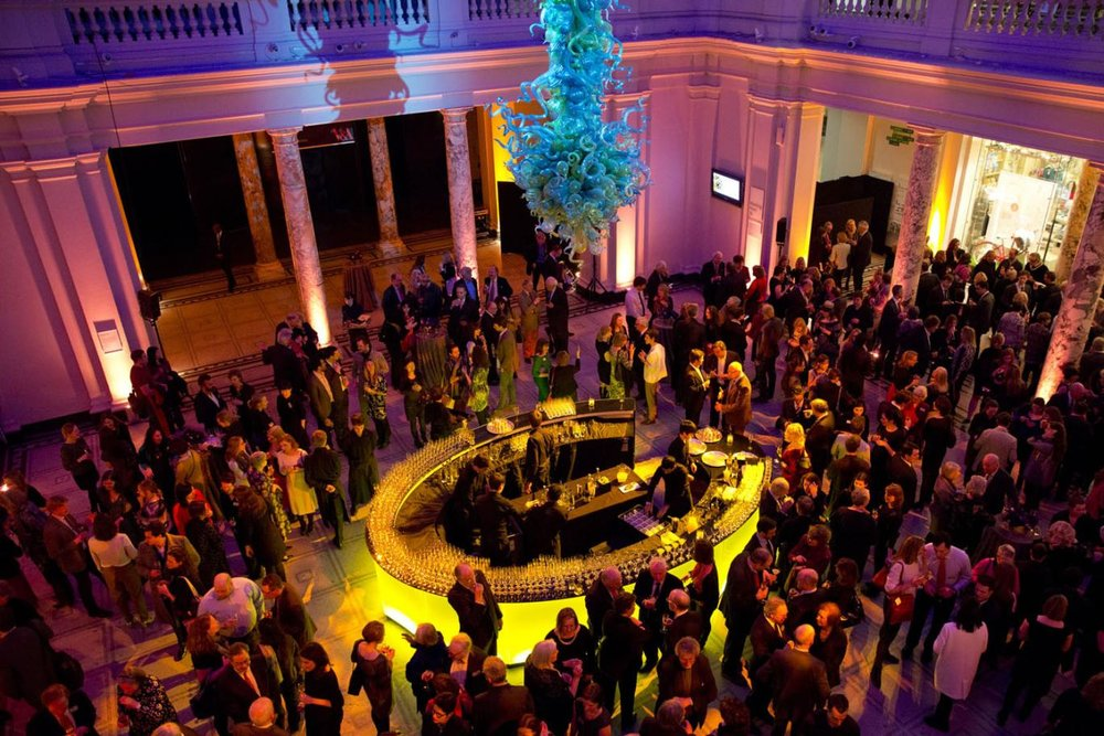 _remix + Victoria and Albert Museum - As part of the V&A's Late to open the museum's new Baroque galleries,_remix curated Baroque DJ sets + live performances.