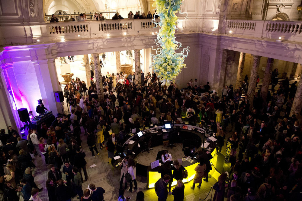 - Baroque DJs combining music of the Baroque with hip hop and R&B as part of Friday Late at the V&A to open the new Europe 1600-1815 galleries.