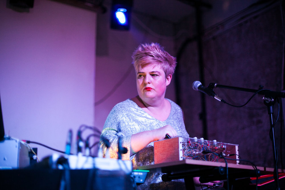 Jo Thomas - Jo Thomas is an award-winning composer and performer. She has performed at venues including the Queen Elizabeth Hall, The Place and Cafe OTO, performing alongside artists including Maria Chavez, Lee Gamble, Phil Niblock and Squarepusher. In 2012 she won the Golden Nica in Prix Ars Electronica Digital Music's and Sound Art Category for her work Crystal Sounds of a Synchrotron.