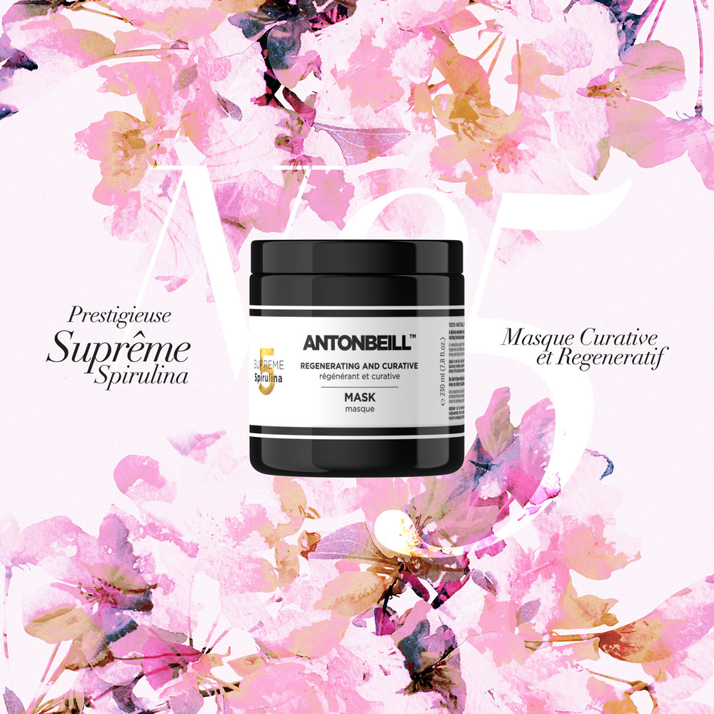 Nº5 SUPREME SPIRULINA Mask - Regenerating and Curative Mask