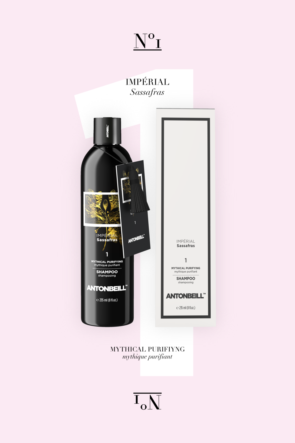 Nº1 Impérial Sassafras Shampoo - Perfect Cleansing, Nutrition & Purification