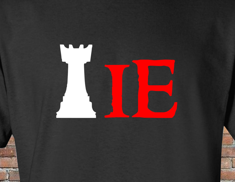 Shirts - Wear the excitement! Our shirts show off how much fun DubleCross chess is.