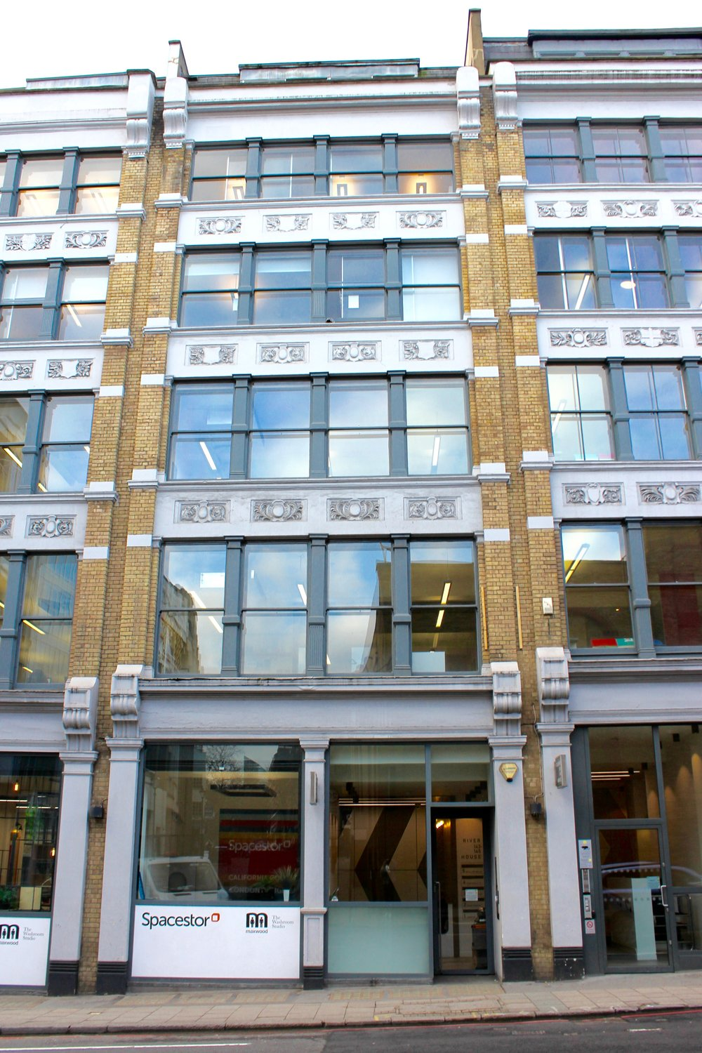 The Hunter Collective Building based in Central London -  coworking, studio and event space