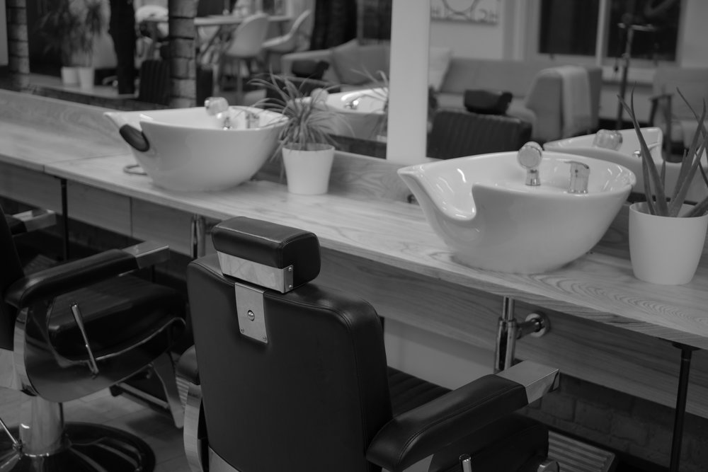 BESPOKE BARBER STATIONS - The salon welcomed a transformed space for a more efficient workstation for barbers.