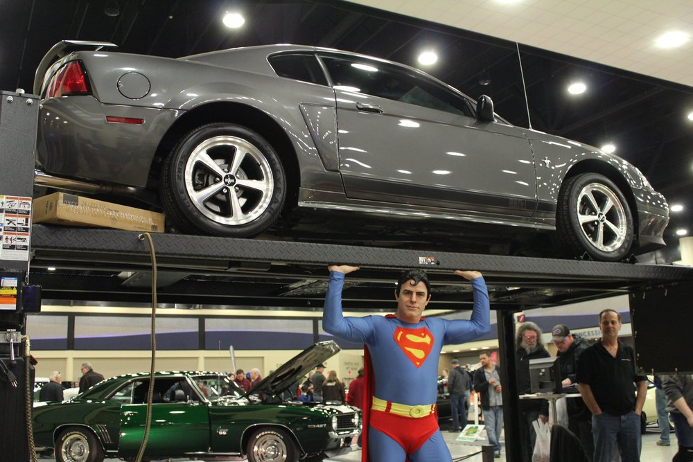 The SuperHero Alliance - Visit with Costumed Superhero Characters from The Supehero Alliance.Saturday: All DaySunday: Noon - 4pmThey will be roaming the show for photo opportunities and interacting with kids of all ages.