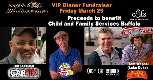 Limited Tickets Available for VIP Celebrity Dinner!  Buy your seat now!