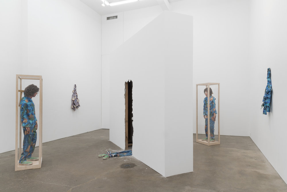 Installation view of David Kennedy Cutler's 1:1. Photo by Adam Reich, courtesy of the artist and Derek Eller Gallery.