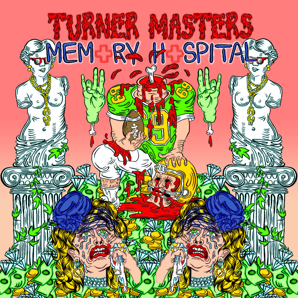 Cover art for Turner Masters Memory Hospital by Sarah Sherman