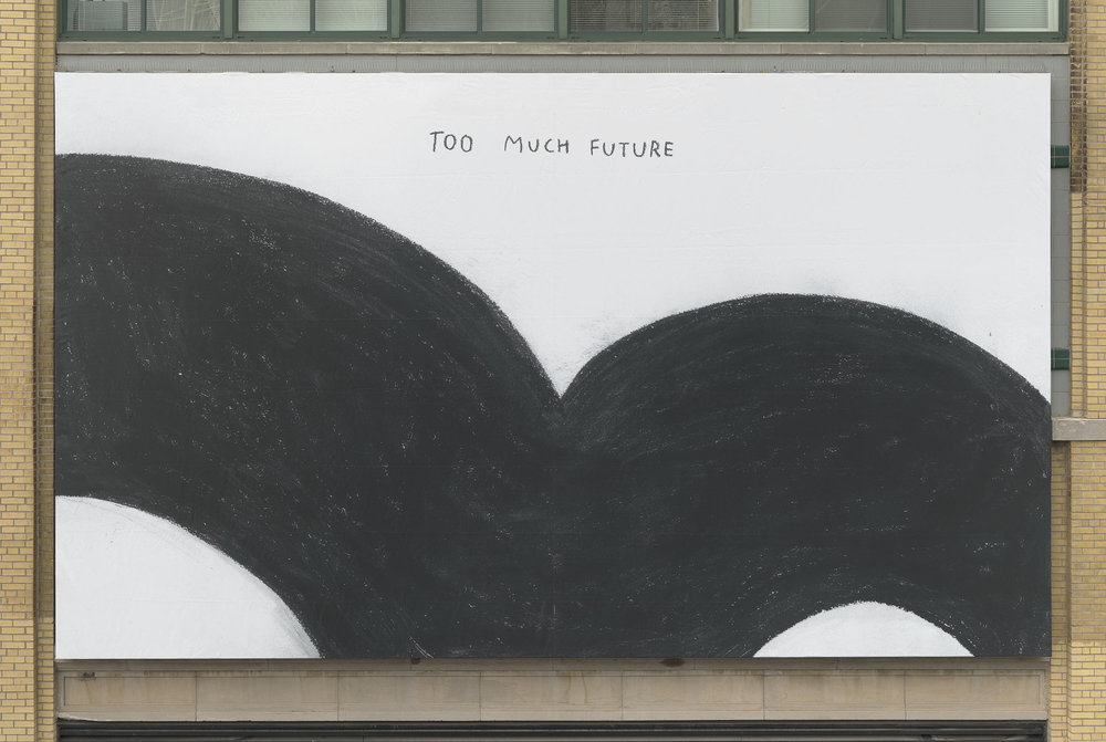 Christine Sun Kim,  Too Much Future  (2018), The High Line, New York, NY. Photo: The Whitney Museum of American Art