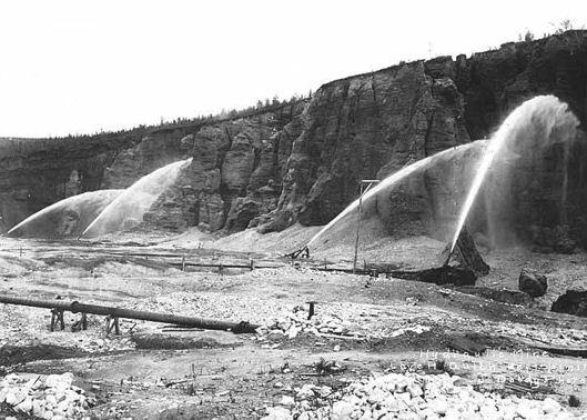 Hydraulic Mining in Canada, 1907