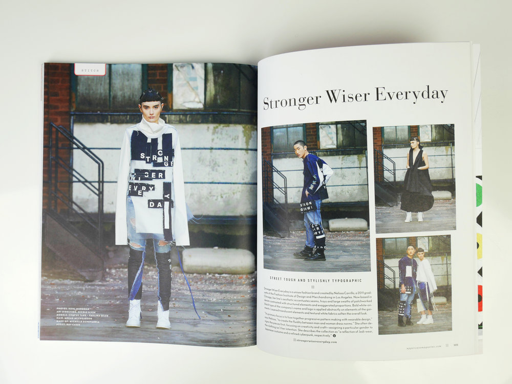 Uppercase Magazine Issue 35 - Full feature pgs. 104-105