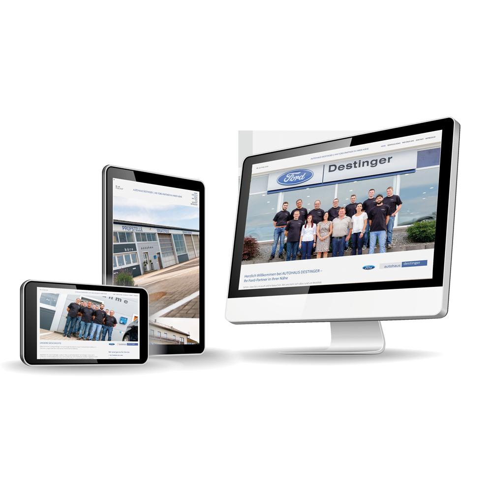 - Ihr Ford-Partner in Ihrer Nähe ist jetzt auch online – AUTOHAUS DESTINGER aus Höhnhart!Entdecken Sie tolle Angebote, innovative Technologie und modernes Design!Ein großes DANKESCHÖN für eine kreative Zusammenarbeit und viel Erfolg weiterhin.