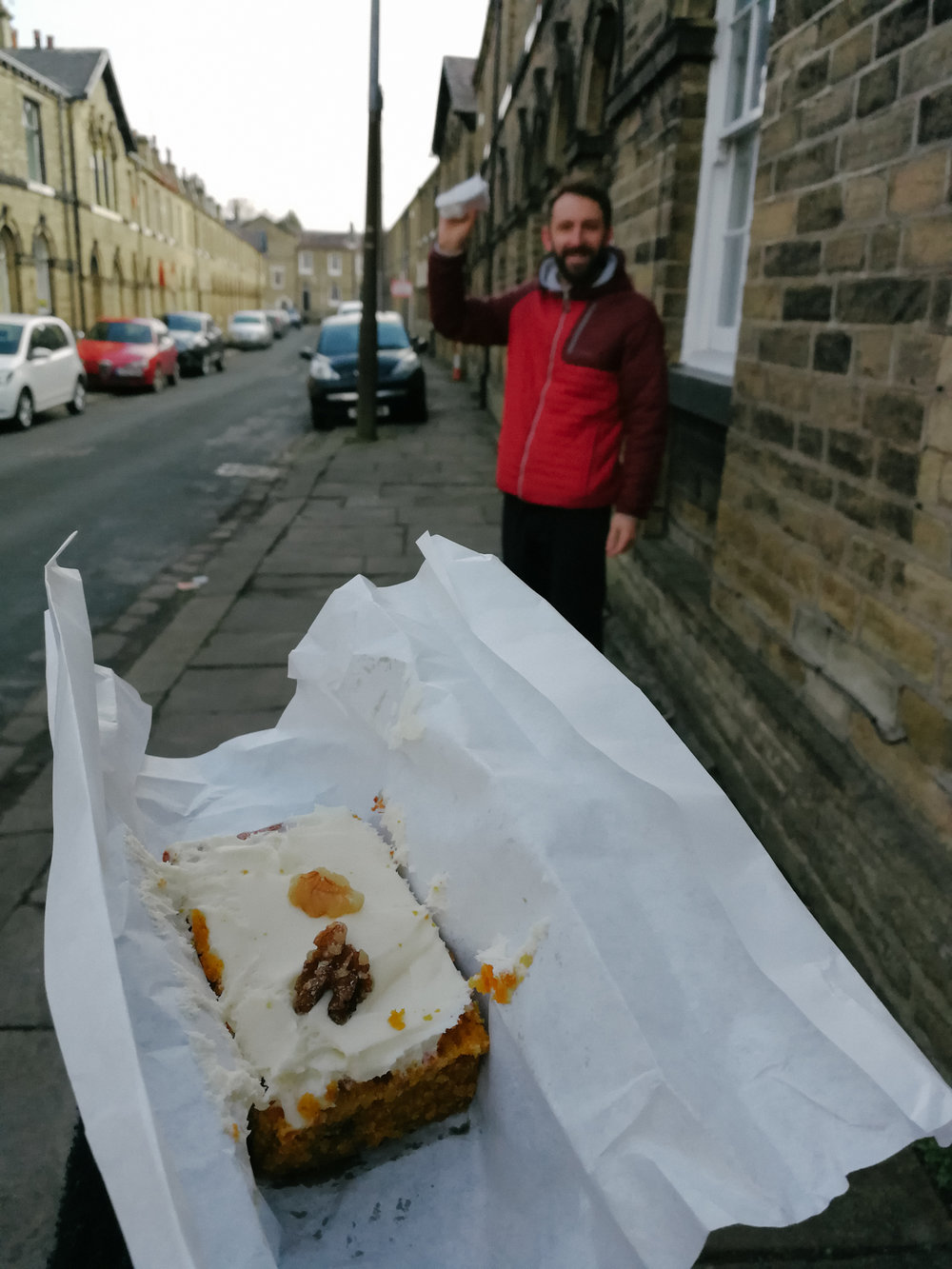 Shop Local - I finally got round to trying a sweet treat from Saltaire based bakery, Edward St Bakery, and it did not disappoint.I am really enjoying getting to know a new town and would love to hear any local reccomendations I should check out!