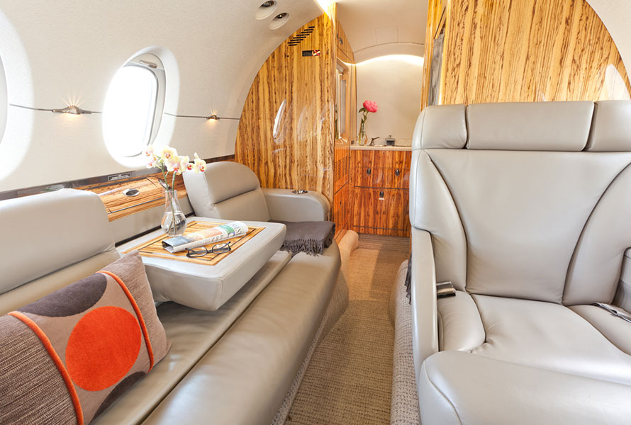 Hawker 800XP Interior Fractrade Aviation